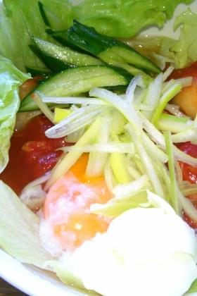 ピリ辛トマト冷麺☆☆☆
