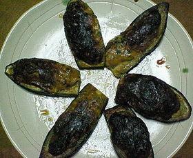 茄子のツナマヨ味噌焼き