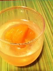 オレンジ水ゼリー*妊婦&ダイエットにもの写真