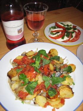 イワシと野菜のカラフルソテー