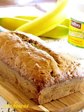 ココナッツオイルで作るバナナブレッド
