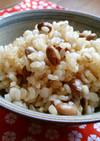 食物繊維た~っぷり!煎り大豆の玄米ごはん