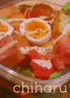 Cafe風ランチ♥BLTサンドsalad