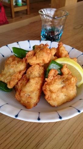 簡単☆節約☆鶏むね肉の味天ぷら