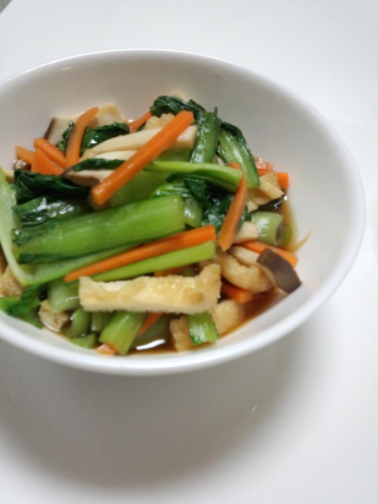 簡単★レンジ調理!小松菜の煮浸し