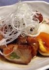 鶏モモの野菜巻き煮