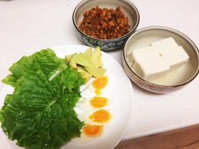 肉味噌(^o^)鳥胸肉ひき肉で