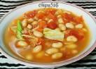 ダイエットにも!大豆とトマトの野菜スープ