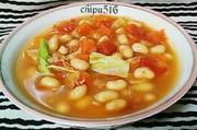 ダイエットにも!大豆とトマトの野菜スープの写真