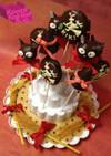 魔女の宅急便のケーキポップ