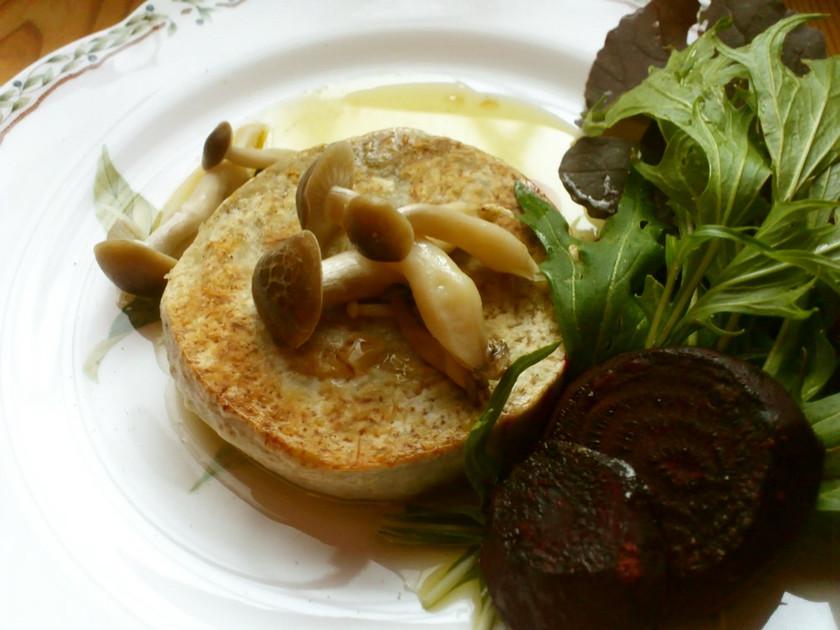 秋が旬!里芋のほっくほくステーキ