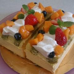きらり!!旬のマンゴームースケーキ
