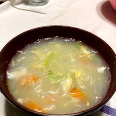春雨スープ♡