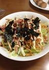 簡単〜❗️もんじゃ焼き風サラダ
