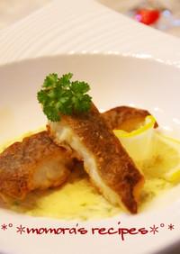 魚料理に♡塩レモンバタークリームソース