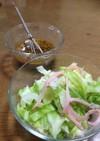 茹でキャベツのサラダポン酢ドレッシング