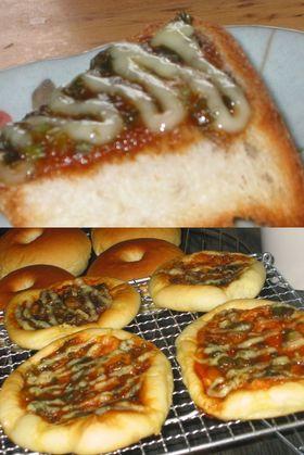 ねぎ味噌パン