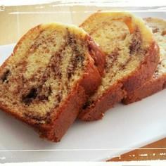 HMでふわしと♡マーブルパウンドケーキ♡
