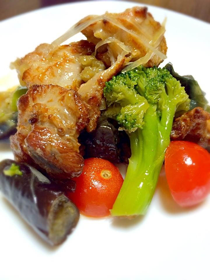 油淋鶏風☆鶏もも肉の香味だれ炒め