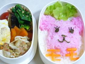 モモ寿司としゅうまい弁当