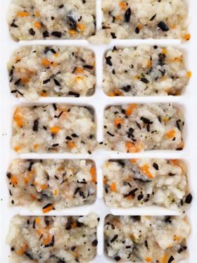 簡単離乳食中期〜ひじきの炊き込みご飯