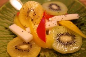 NZ産キウイの簡単酢の物