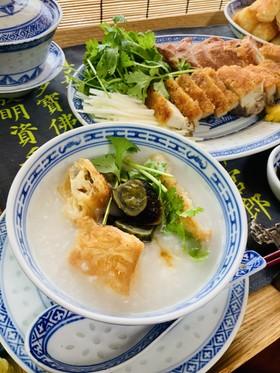 中華粥は「お米のポタージュ」基本