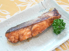 鮭の簡単照り焼き