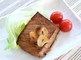 さしみまぐろのステーキ