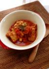 簡単チキンのトマト煮込み*