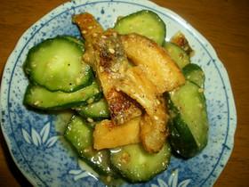きゅうりと油揚げの酢味噌和え(もみうり)