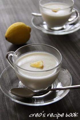 レモン風味でさっぱり☆ヨーグルトゼリー