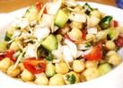 ひよこ豆ときゅうりのサラダ=ネパール料理