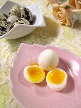 ぷちとろ~♫半熟うずら卵