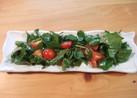 ルッコラのシンプル簡単サラダ