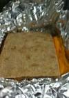パン一枚でサンド