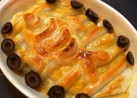 キャラ飯ランチ*ニシンとかぼちゃのパイ