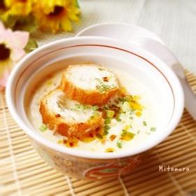 台湾料理~鹹豆漿(塩豆乳)
