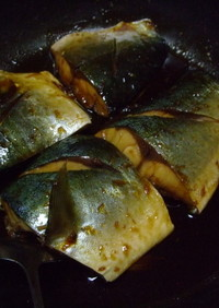 残った汁がトローリの煮魚!ツバス煮付け