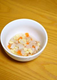 離乳食*中期~『大根と高野豆腐の煮物』