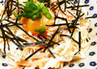 濃厚マヨで食べる大根サラダ