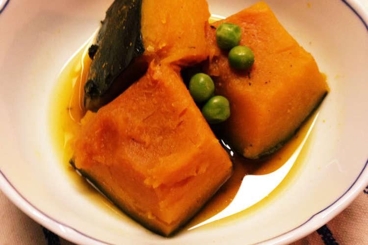"""冷凍 かぼちゃ 煮物 煮ないで時短!冷凍カボチャの""""煮物"""" -"""