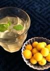 梅シロップ(酵素シロップ)で梅ジュース