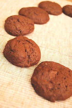 ダブルチョコクッキー。