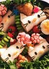 ピクニック弁当6 キティちゃん
