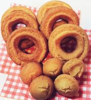 簡単!手作りオールドファッションドーナツの写真