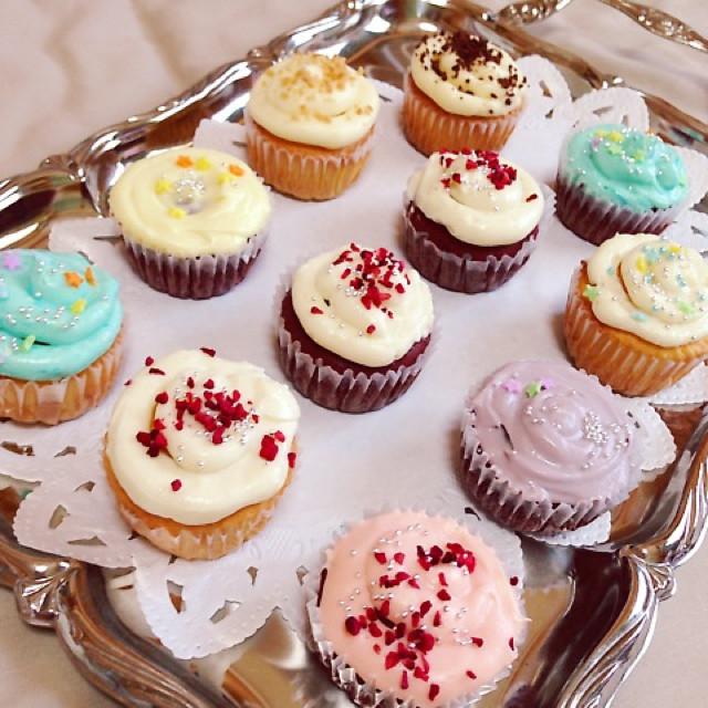 アメリカ♡NYスタイルカップケーキ