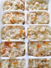簡単離乳食中期〜しらすの炊き込みご飯の写真