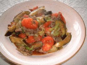 牛肉と野菜の中華炒め