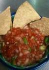 食べるソース~トマトのサルサ